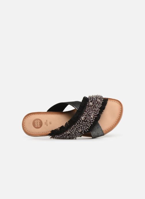 Mules & clogs Gioseppo 45307 Silver view from the left