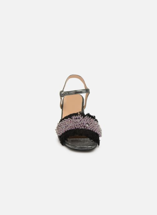 Sandalen Gioseppo 45310 silber schuhe getragen