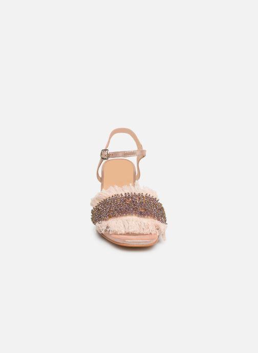 Sandalen Gioseppo 45310 rosa schuhe getragen