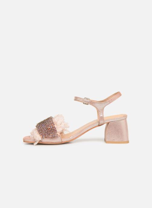 Sandalen Gioseppo 45310 rosa ansicht von vorne