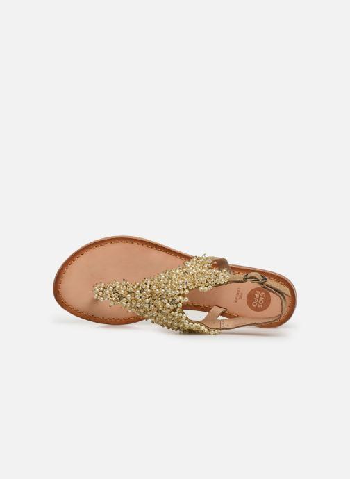 Sandali e scarpe aperte Gioseppo 45312 Oro e bronzo immagine sinistra