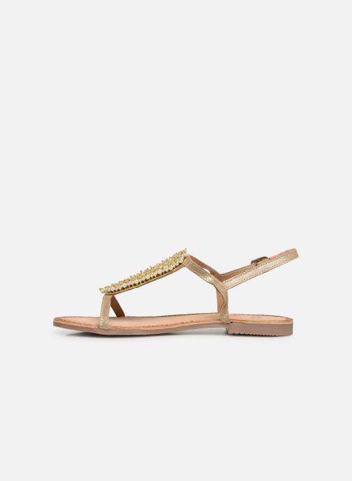 Sandales et nu-pieds Gioseppo 45313 Or et bronze vue face