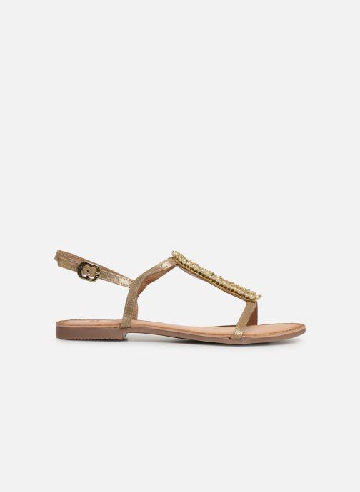 Sandales et nu-pieds Gioseppo 45313 Or et bronze vue derrière