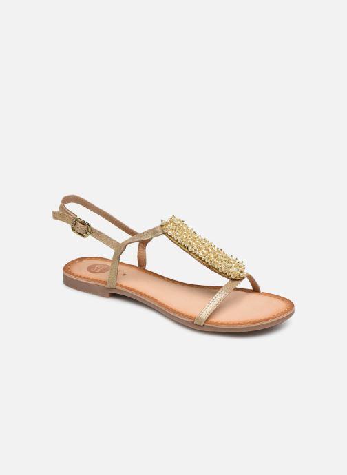 Sandales et nu-pieds Gioseppo 45313 Or et bronze vue détail/paire