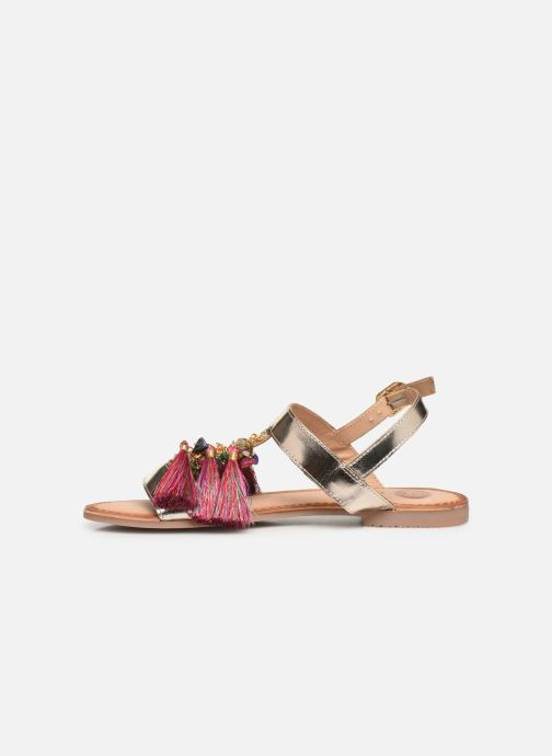 Sandals Gioseppo 45321 Bronze and Gold front view