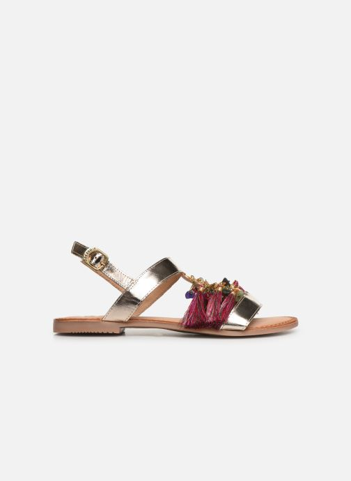 Sandales et nu-pieds Gioseppo 45321 Or et bronze vue derrière