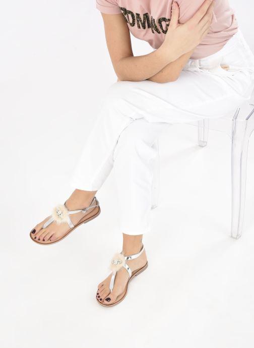 Sandales et nu-pieds Gioseppo 45329 Argent vue bas / vue portée sac