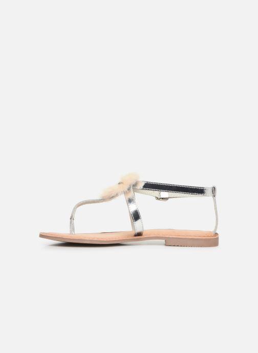 Sandales et nu-pieds Gioseppo 45329 Argent vue face