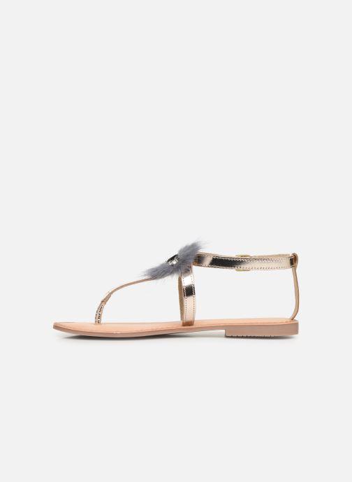 Sandales et nu-pieds Gioseppo 45329 Or et bronze vue face