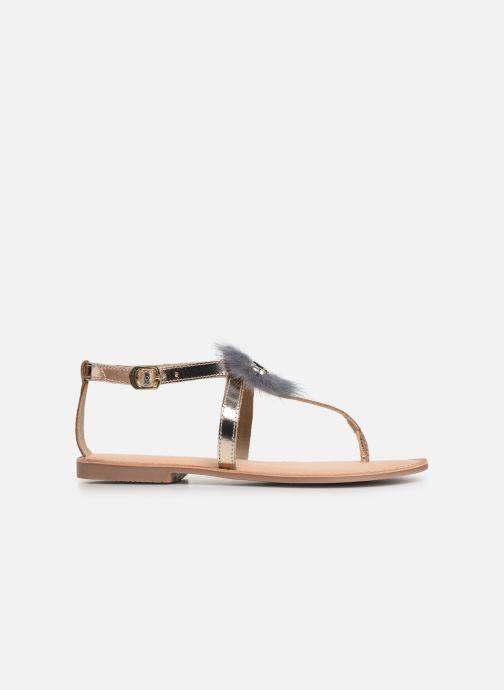 Sandales et nu-pieds Gioseppo 45329 Or et bronze vue derrière