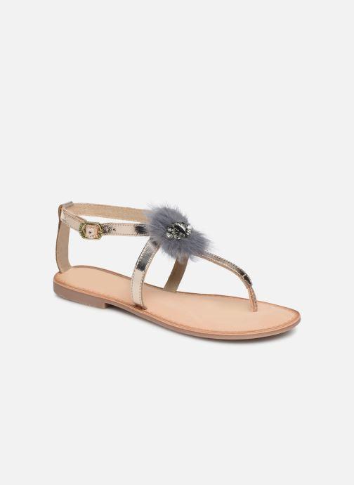 Sandales et nu-pieds Gioseppo 45329 Or et bronze vue détail/paire