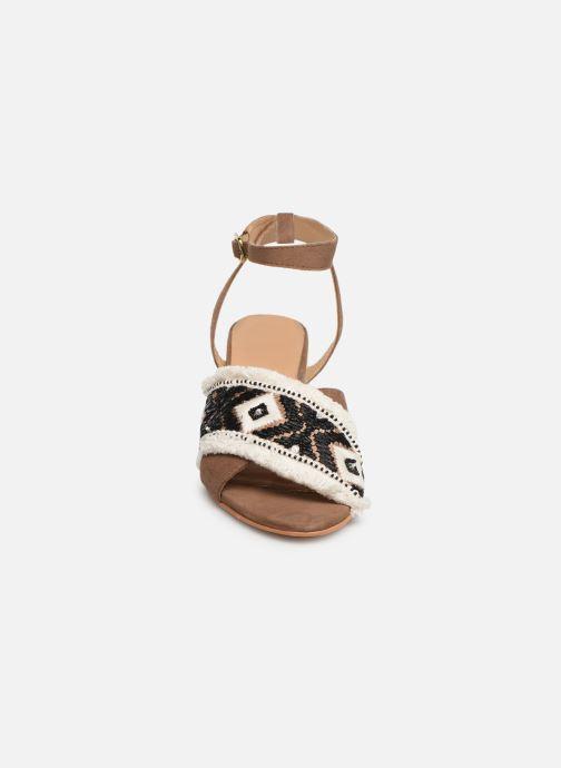 Sandales et nu-pieds Gioseppo 45332 Marron vue portées chaussures