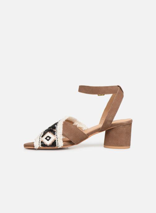 Sandales et nu-pieds Gioseppo 45332 Marron vue face