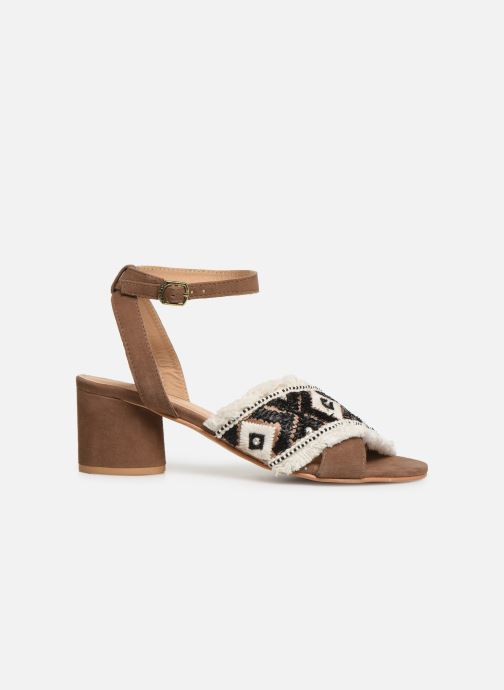 Sandals Gioseppo 45332 Brown back view