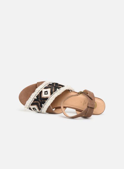 Sandales et nu-pieds Gioseppo 45332 Marron vue gauche