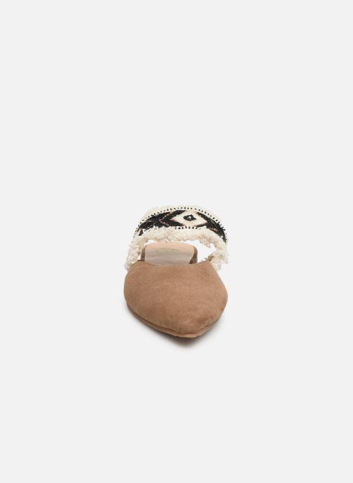 Clogs & Pantoletten Gioseppo 45333 braun schuhe getragen