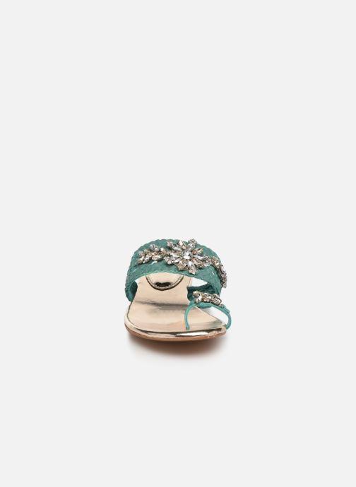 Clogs & Pantoletten Gioseppo 45345 blau schuhe getragen