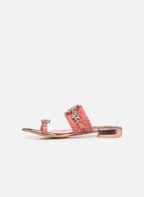 Clogs & Pantoletten Gioseppo 45345 rosa ansicht von vorne