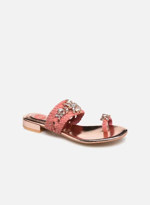 Clogs & Pantoletten Gioseppo 45345 rosa detaillierte ansicht/modell