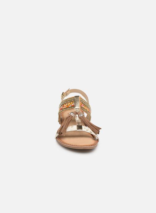 Sandales et nu-pieds Gioseppo 45349 Marron vue portées chaussures