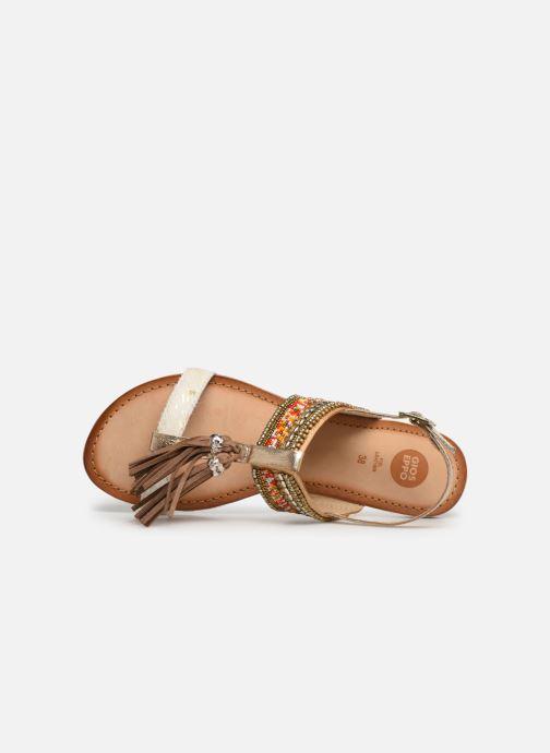 Sandales et nu-pieds Gioseppo 45349 Marron vue gauche