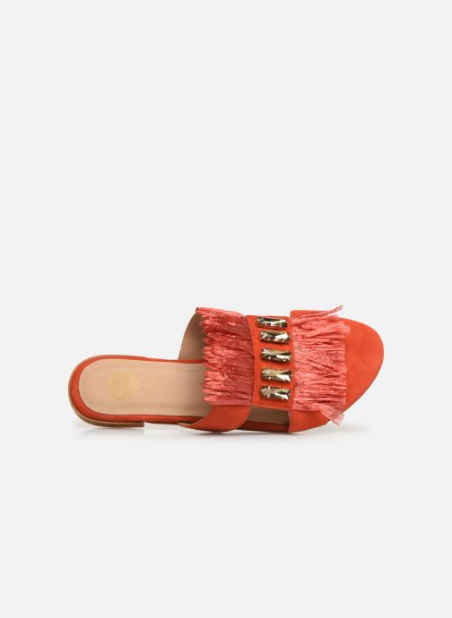 Clogs & Pantoletten Gioseppo 45354 orange ansicht von links