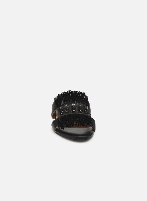 Clogs & Pantoletten Gioseppo 45354 schwarz schuhe getragen