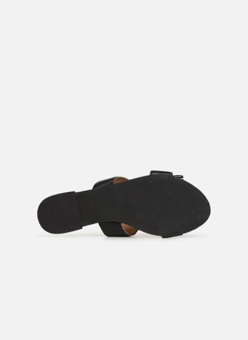 Clogs & Pantoletten Gioseppo 45354 schwarz ansicht von oben