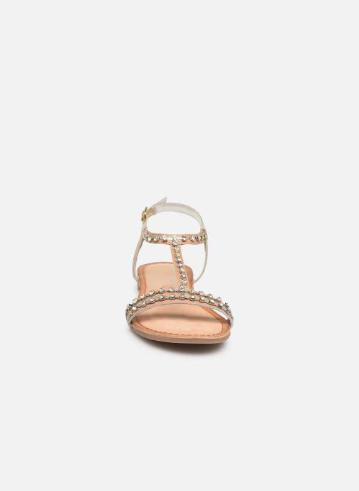 Sandales et nu-pieds Gioseppo 45386 Beige vue portées chaussures