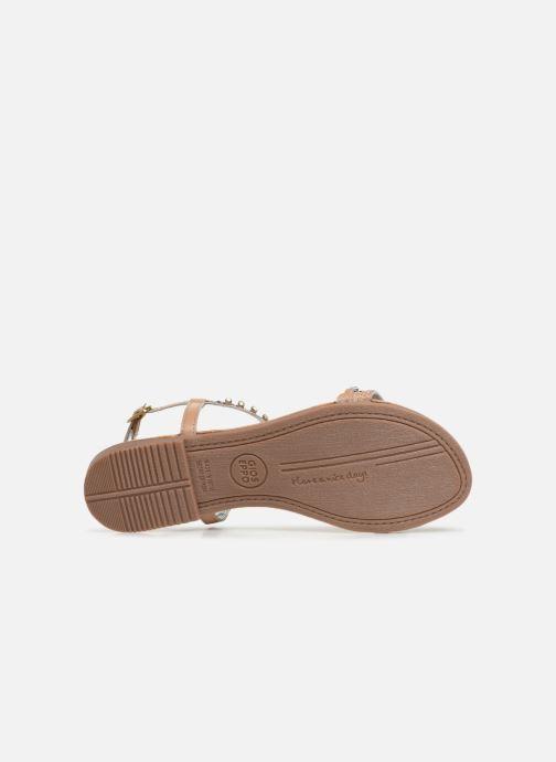 Sandales et nu-pieds Gioseppo 45386 Beige vue haut