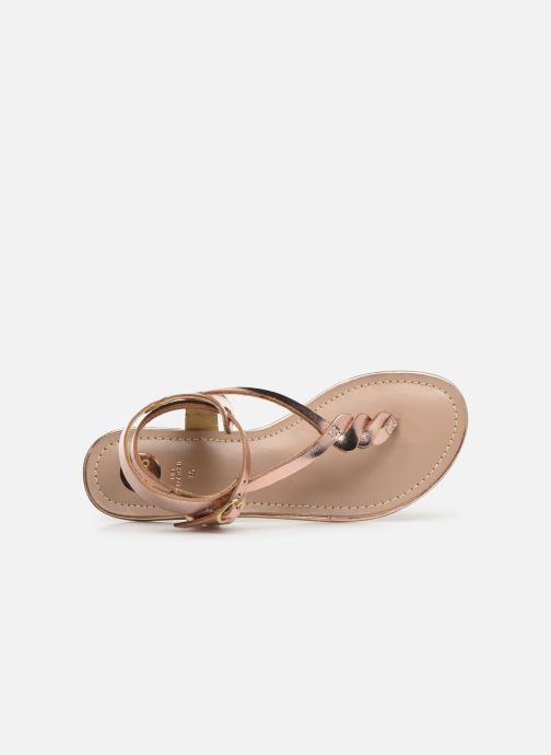 Sandales et nu-pieds Gioseppo 40529 Rose vue gauche