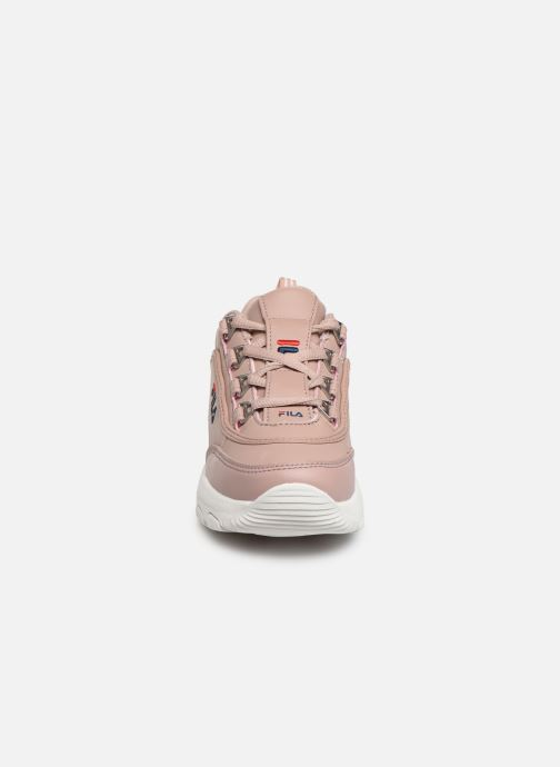 Trainers FILA Strada Low Kids Pink model view