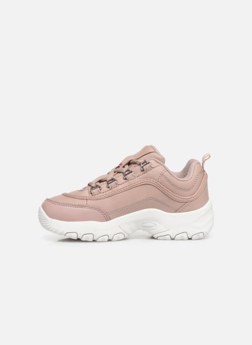 Trainers FILA Strada Low Kids Pink front view