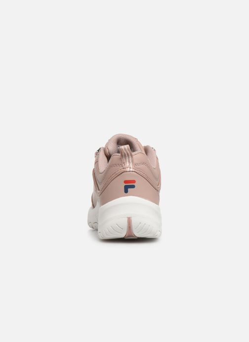 Trainers FILA Strada Low Kids Pink view from the right