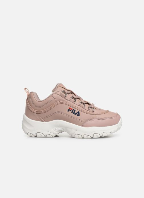 Trainers FILA Strada Low Kids Pink back view