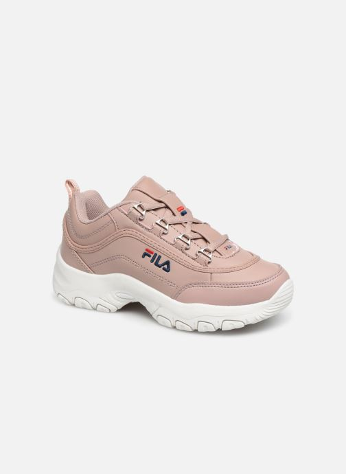 Trainers FILA Strada Low Kids Pink detailed view/ Pair view