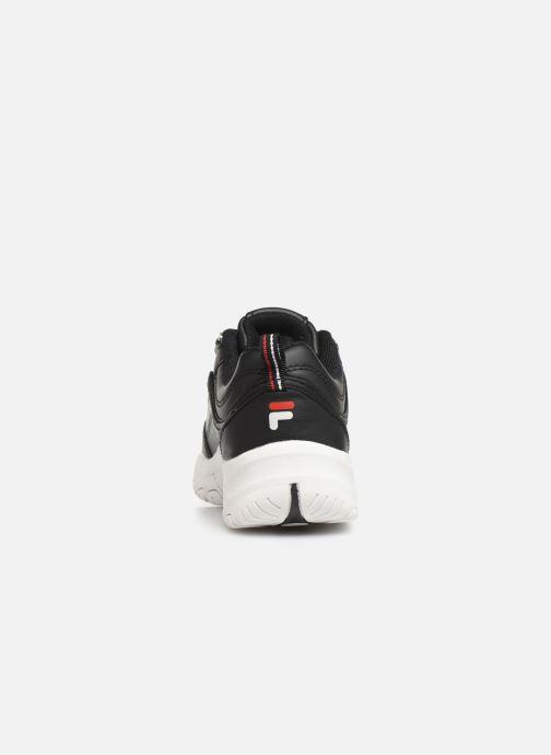 Sneaker FILA Strada Low Kids schwarz ansicht von rechts