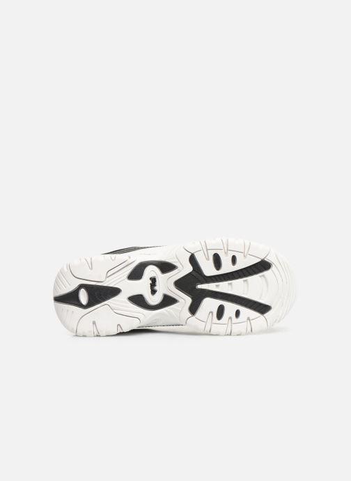 Sneaker FILA Strada Low Kids schwarz ansicht von oben