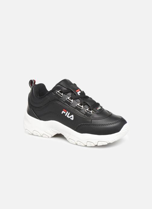 Sneakers FILA Strada Low Kids Sort detaljeret billede af skoene