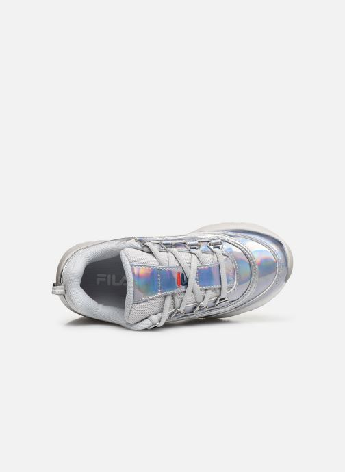 FILA Strada Low Kids (Zilver) Sneakers chez Sarenza (386159)