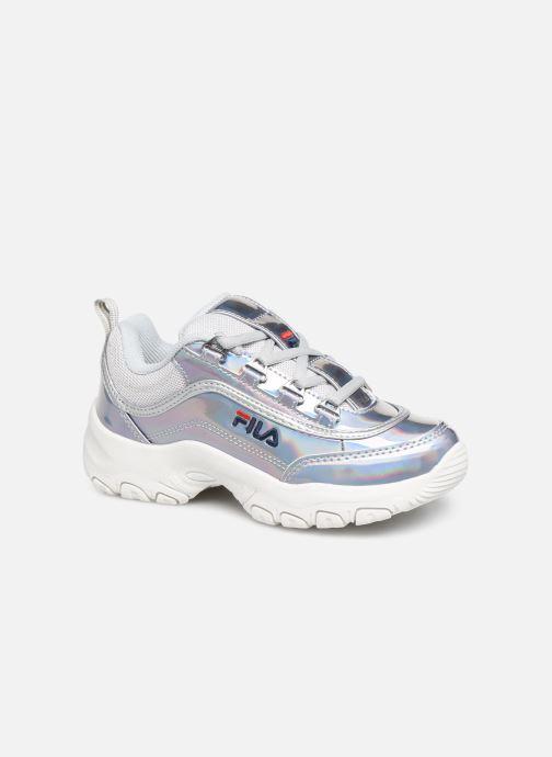 Sneakers FILA Strada Low Kids Sølv detaljeret billede af skoene