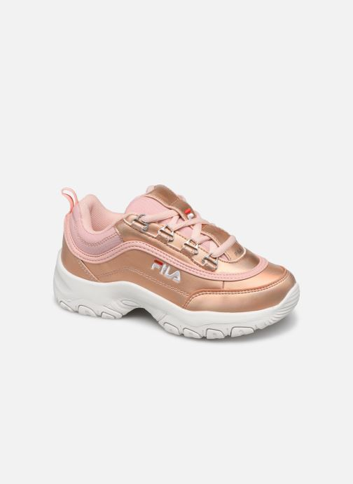 Baskets FILA Strada Low Kids Rose vue détail/paire