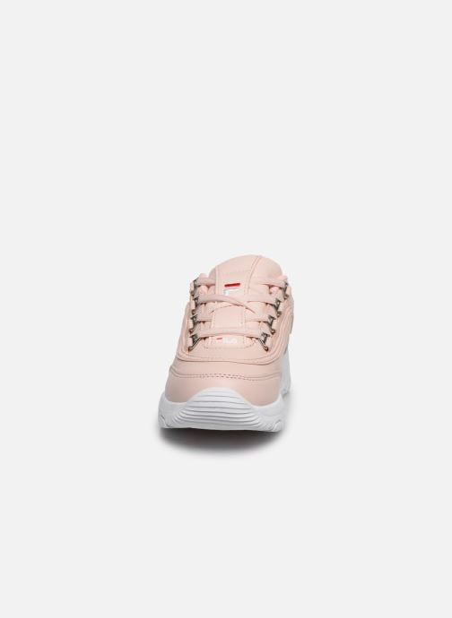 Sneaker FILA Strada Low Kids rosa schuhe getragen