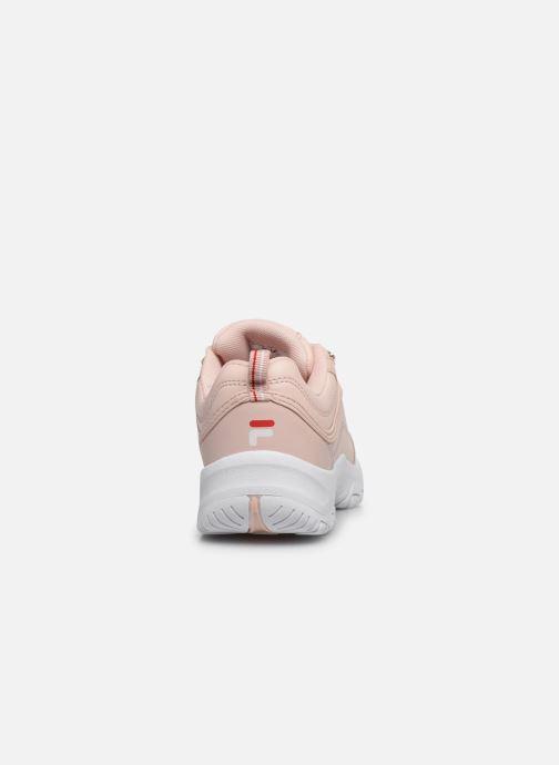 Sneaker FILA Strada Low Kids rosa ansicht von rechts