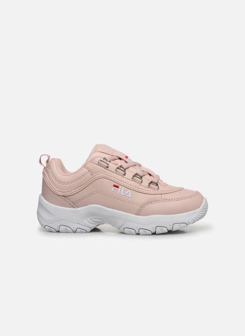 Sneaker FILA Strada Low Kids rosa ansicht von hinten