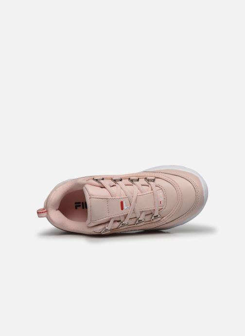 Sneaker FILA Strada Low Kids rosa ansicht von links