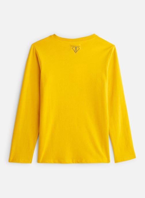 Vêtements Arsène et les Pipelettes T-Shirt Champion du Monde Jaune vue bas / vue portée sac