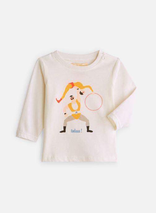 Vêtements Arsène et les Pipelettes T-shirt Acrobates Blanc vue détail/paire