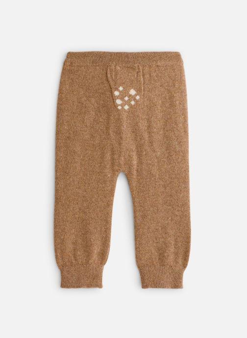 Vêtements Arsène et les Pipelettes Leggings tricoté Daim Marron vue bas / vue portée sac