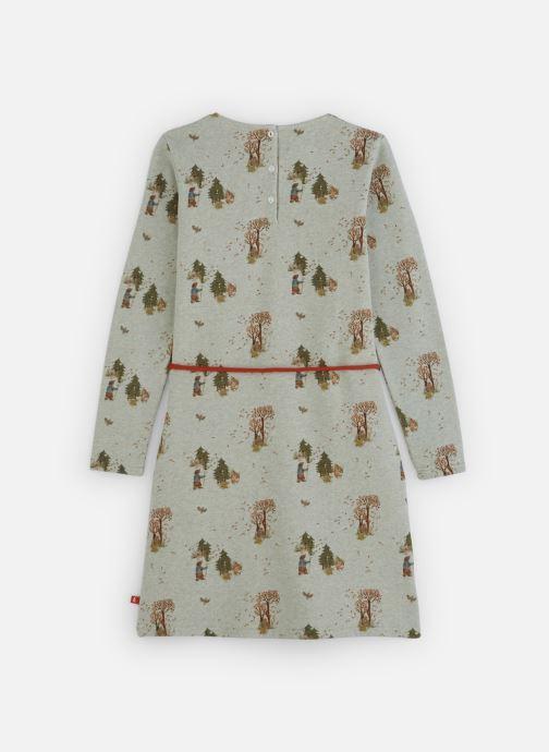 Vêtements Arsène et les Pipelettes Combinaison Sapin Gris vue bas / vue portée sac